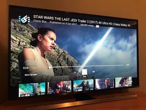 "48"" 4K UHD Samsung Smart TV UE48JUD WIFI LED TV with 3"