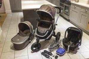 ICandy Peach Jogger / All Terrain pram travel system