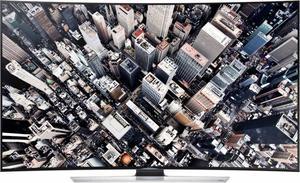 SAMSUNG 55 INCH CURVED 4K UHD 3D SMART LED TV (UE55HU)