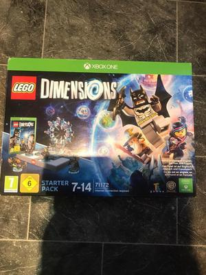 Xbox 1 one lego dimensions starter pack
