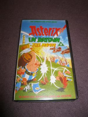 Asterix in Britain The Movie VHS Video