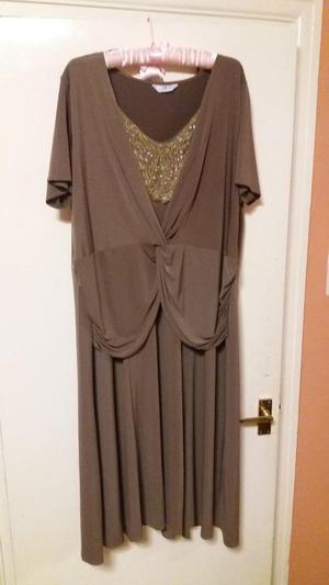 Brown Dress size 26