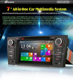 "Car radio Erisin ESB 7"" GPS for BMW E90 E91 E92 E93"