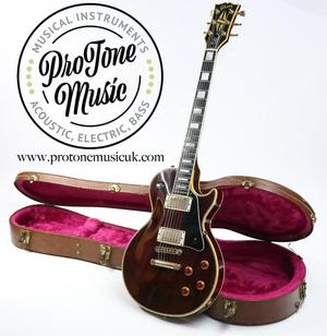Gibson Les Paul Custom Wine Red & Gibson Hard Case - Su