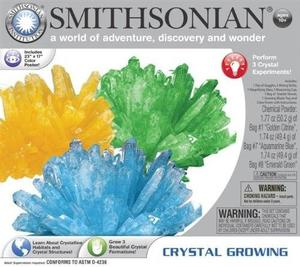 Smithsonian Crystal Growing Gem Like. Brand New