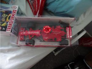 new red racing car in Southampton