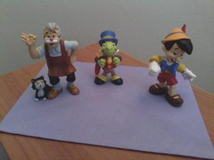 3, gorgeous hand painted disney bullyland figures