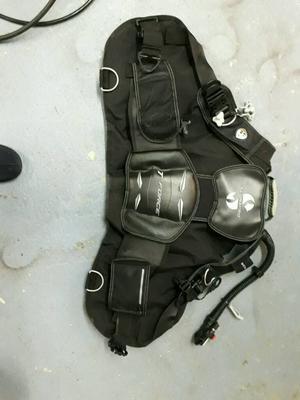 BCD stabiliser jacket - Scuba Pro T Force