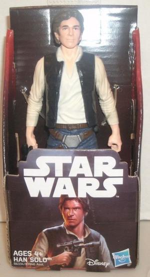 "Disney/Hasbro Star Wars Han Solo w/Blaster ""A New Hope"""