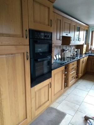 French Oak Kitchen for sale including appliances