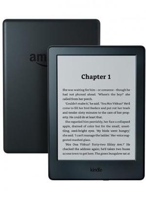 "Kindle E-Reader, 6"" Touchscreen Wi-Fi used few times fantast"