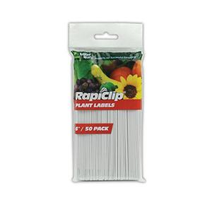 Luster Leaf Rapiclip 6-Inch Garden Plant Labels - 50 Pack