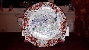 Peacock Ornamental Plate
