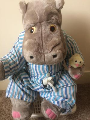 Silent Night collectors item hippo and duck