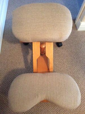 Deluxe Orthopedic Kneeling Chair Rrp Price 130 Posot Class