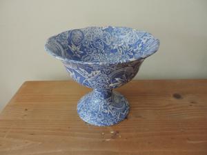 Blue and White Blakeney Provence England Urn Vase