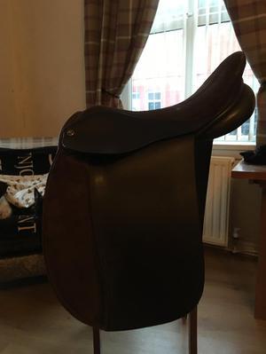 """"""" Oakfield Santana Leather and Suede Show Saddle"""