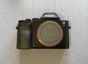 Sony a7 body only with a battery