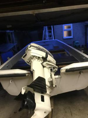 13 FT Heavy Duty Dory and Road Trailer