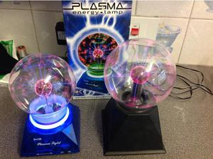 A Pair of Plasma Ball Lamps in Portsmouth