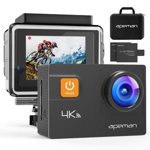 Action Camera 4K Apeman with Case + Accessories - NEW