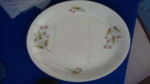 Alfred Meakin Retro 's dinner plates & oval plate