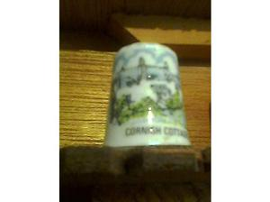 CORNWALL COTTAGES collectable thimble in Ramsgate