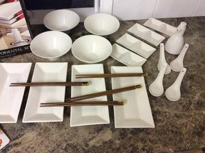 Oriental serving set