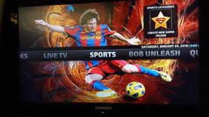 Samsung 32inch hd tv with remote£70
