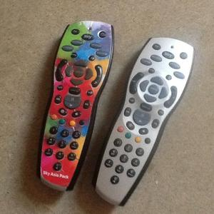 Standard remote control for Sky/TV
