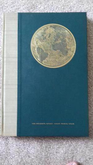 VINTAGE  READERS DIGEST WORLD ATLAS