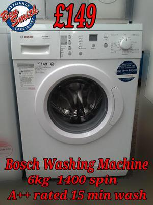 Washing Machine Bosch White