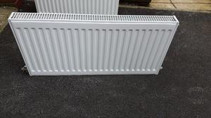 White Central Heating Radiator 800W x 400H x 60D