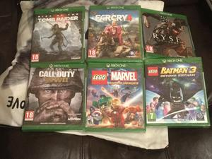 Xbox one games bundle call of duty wwii lego marvel superheroes lego batman 3 rise £130 no offers