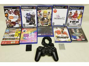 10 PS2 Titles, 1 PS2 Controller and 2 Memory Cards in St.