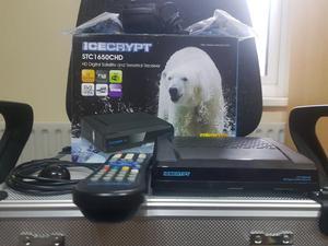 **BARGAIN** ICECRYPT STC CHD COMBO SATELLITE & TERRESTRIAL HD DIGITAL RECEIVER