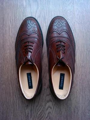 Brown Shoes Size 44 As New