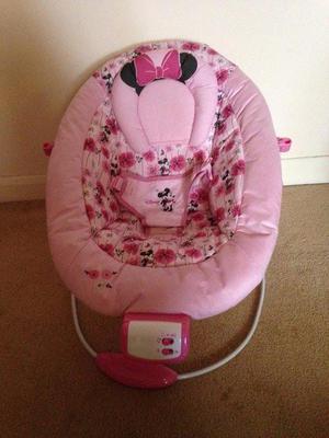 Disney Pink Minnie Mouse Rocker Chair