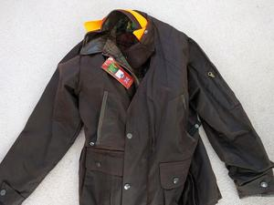 Hunter Outdoor Winchester Deluxe Men's Wax Jacket - Size L - Never Worn
