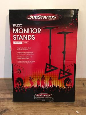 Jamstands Studio Monitor Stands JS-MS70 BNIB