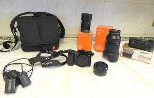Sony A Camera and Lens Package Excellent Condition