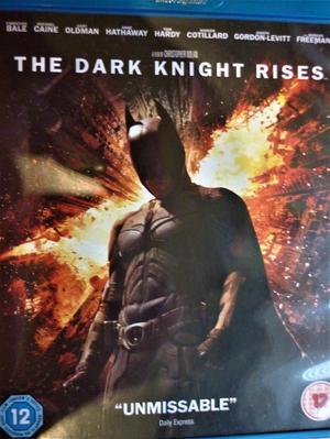 The Dark Knight Rises. Batman Begins. Man of Steel. BLU RAY.
