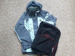 Womens size  Sprayway waterproof jacket + Head fleece lined trousers