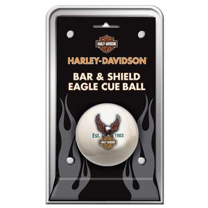 Harley-Davidso n Billiard Pool Bar & Shield Eagle Cue Ball