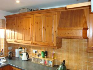 Kitchen unit solid wood doors