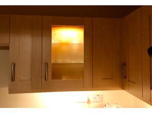 Kitchen units cupboards cabinets, worktops, splashback and