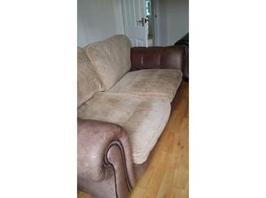 Large 2 and 3 seater sofa in Doncaster