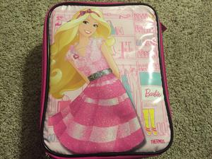 """Mattel Thermos Barbie 9"""" Soft Lunch Box Tote Insulated Bag"""