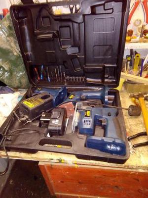 Power craft tool set
