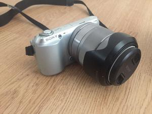 Sony NEX C3 with  lens, flash, charger and spare batteries